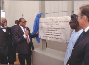 Commissioning Of Tempo's Ultra-Modern BOPP Films Manufacturing Plant